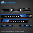 Mercury 115 hp decal sets Set of decals for 1976 motors 1150